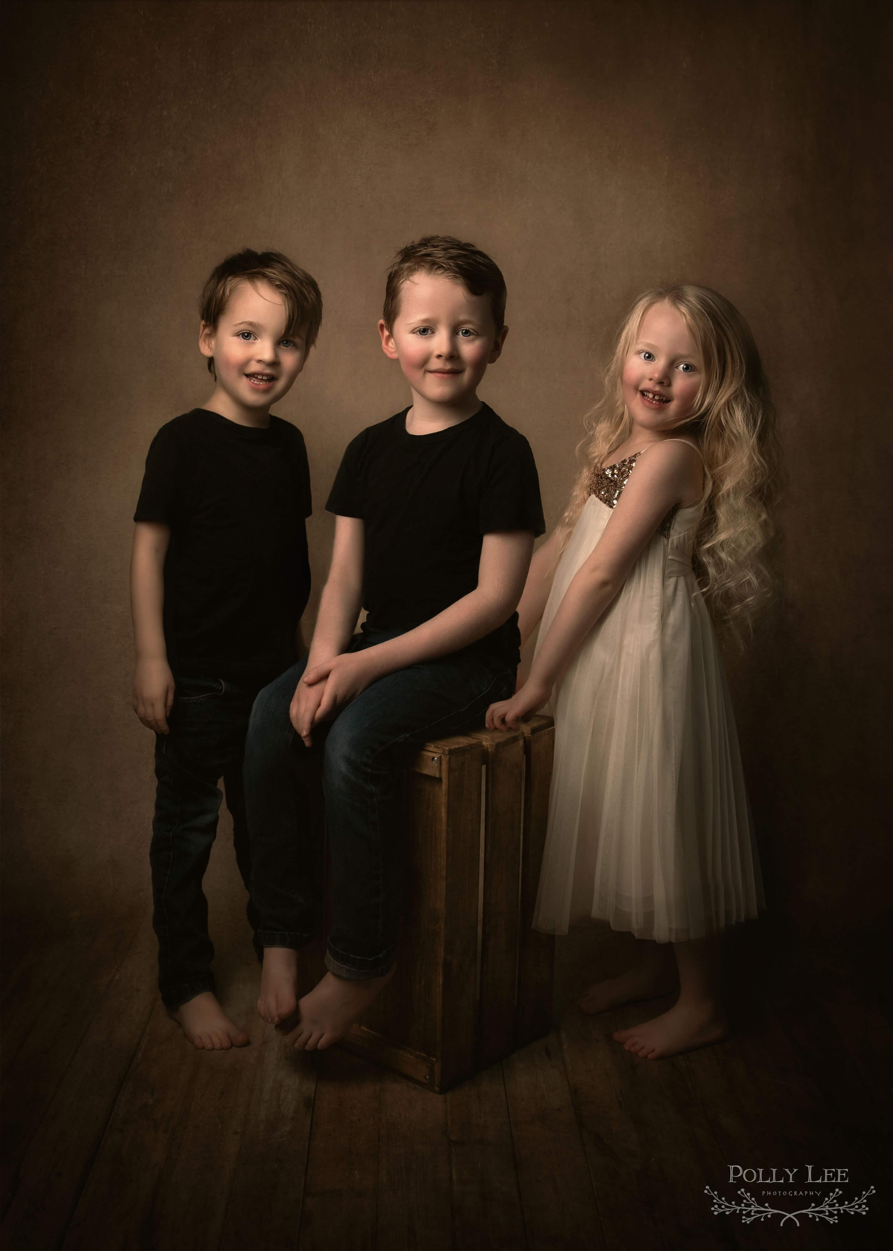 Family children's portrait