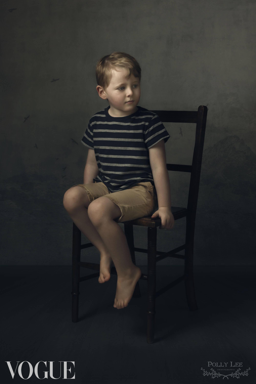 Child fine art portrait